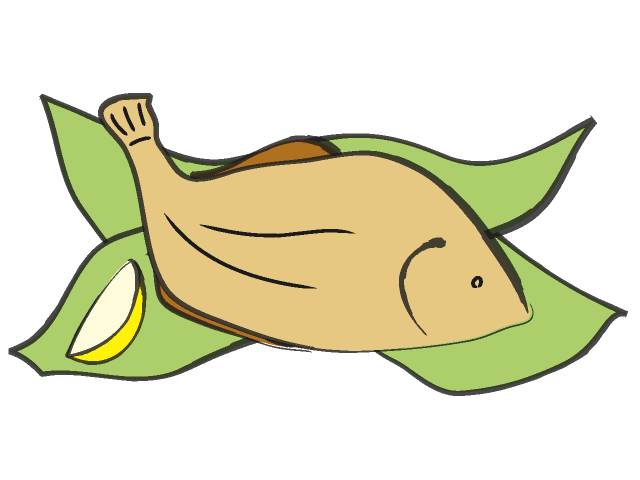 640x480 Free Cooked Fish Clipart Image