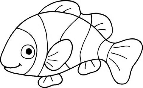 480x294 Fish black and white fish black and white clipart 2 –