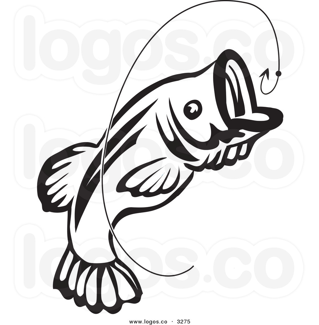 1024x1044 Bass Fish Clipart Black And White