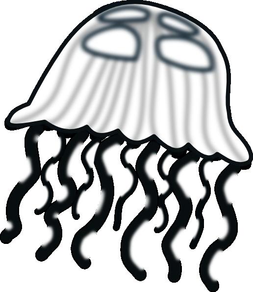 516x595 Jellyfish Clip Art