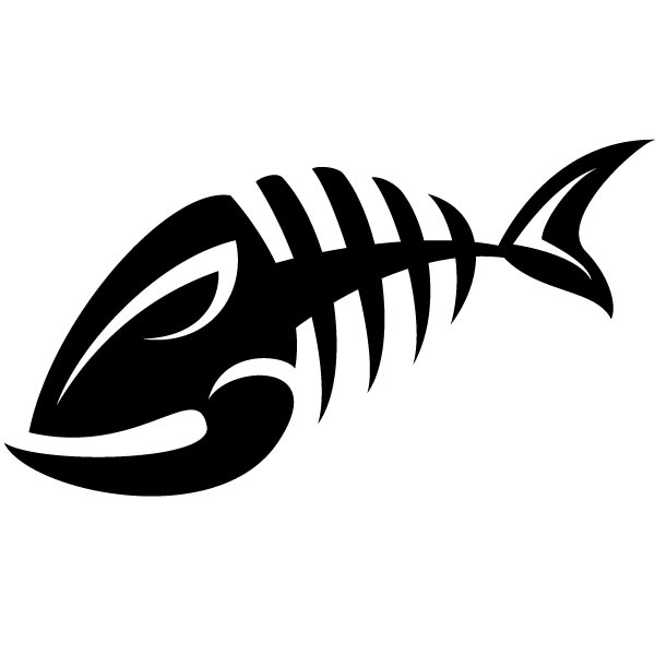 600x600 Bone Fish Clipart