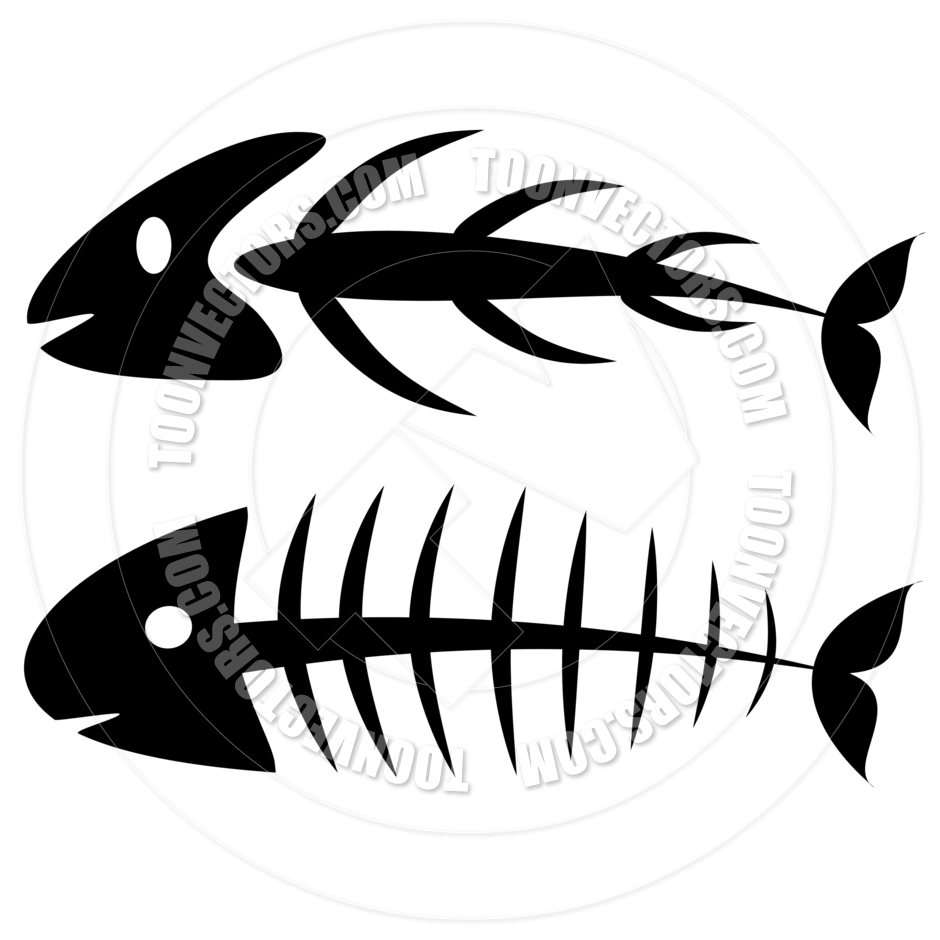 940x940 Fish Bones By Pixxart Toon Vectors Eps