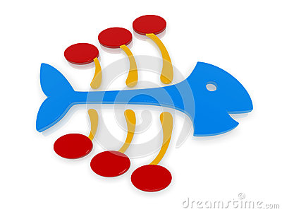 400x300 Fish bone art clipart