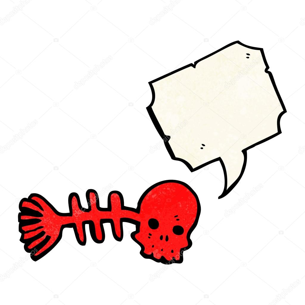 1024x1024 Skeleton Fish Bones Stock Vector Lineartestpilot
