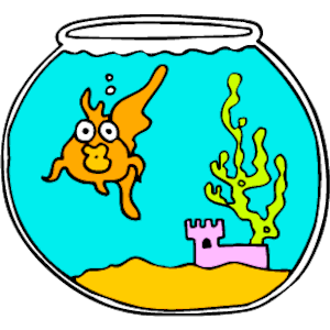 300x300 Fish in Bowl clipart, cliparts of Fish in Bowl free download (wmf