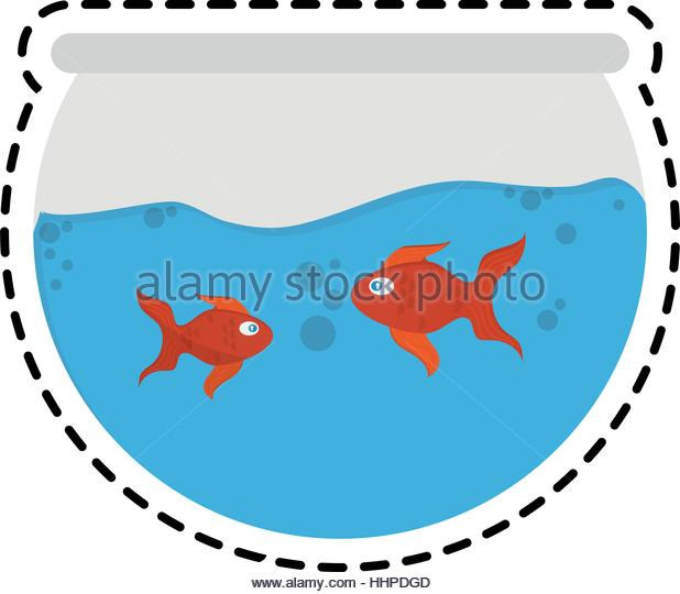 618x540 Fishbowl Stock Vector Images