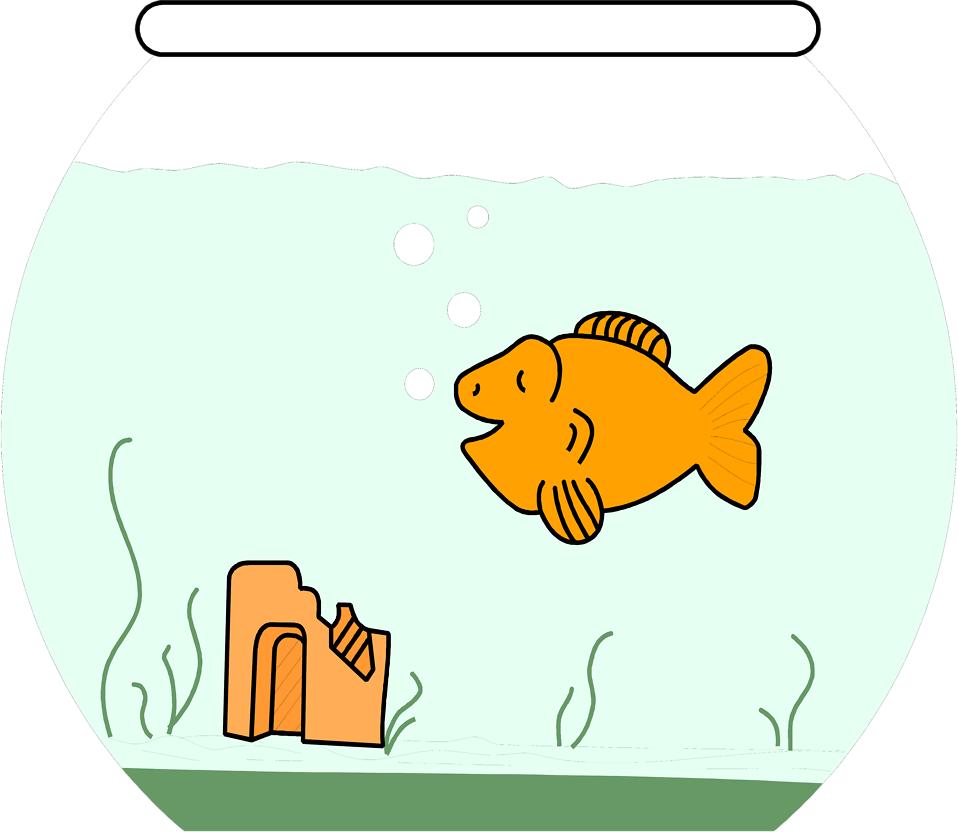958x832 Goldfish Free Stock Photo Illustration Of A Cartoon Goldfish