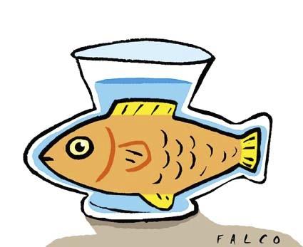 425x347 Fishbowl By Alexfalcocartoons Media Amp Culture Cartoon Toonpool