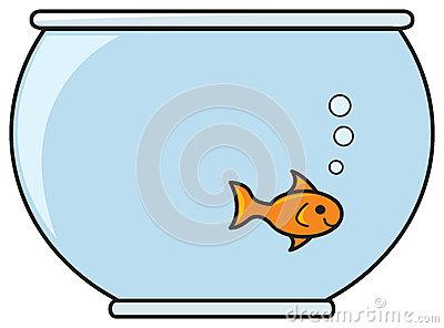 400x296 Goldfish Bowl Clipart