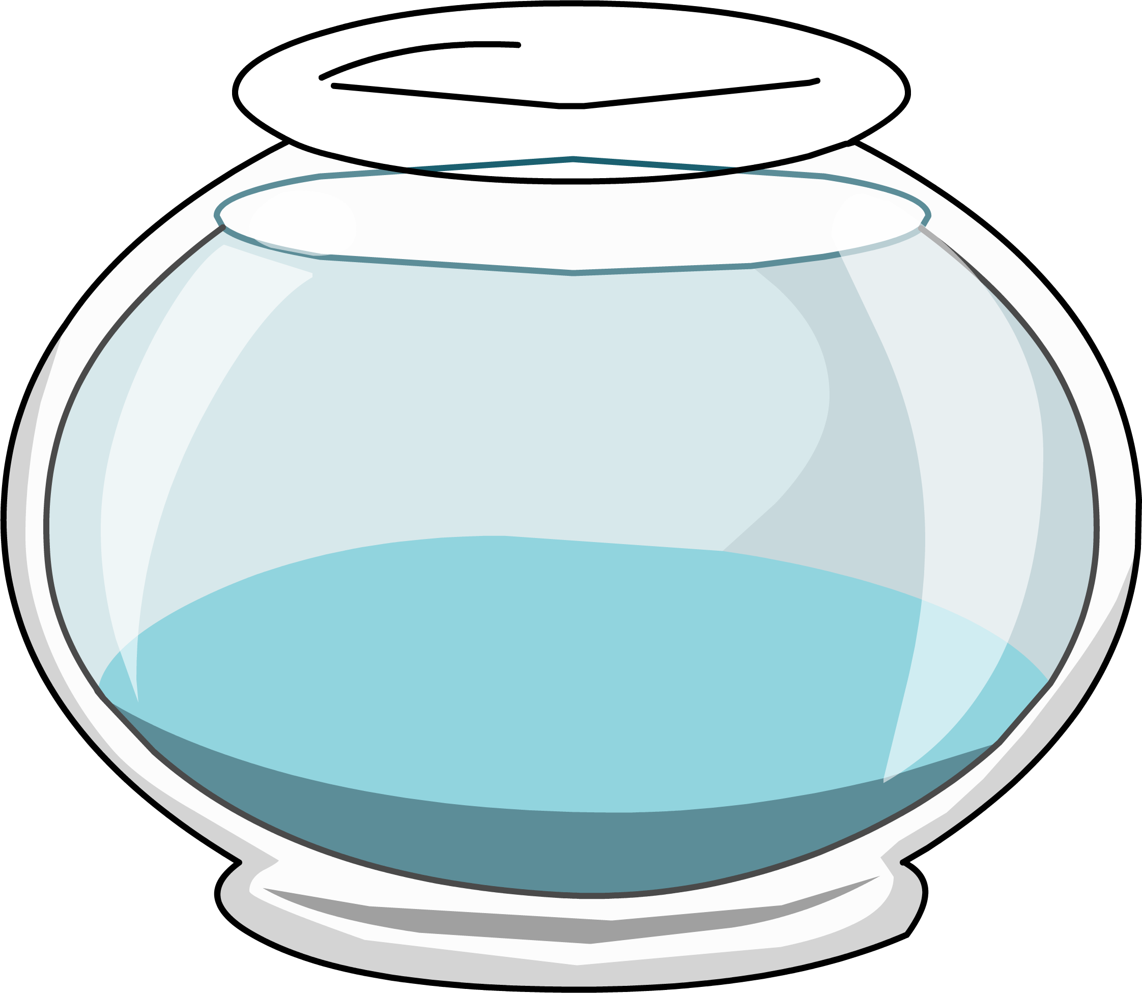 2244x1951 Clipart fishbowl