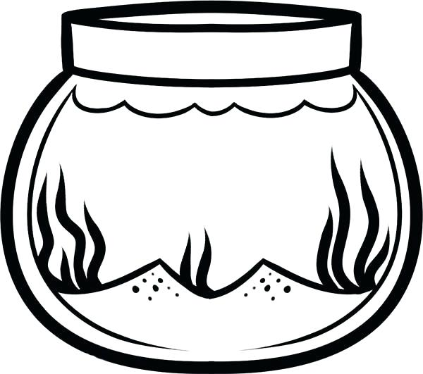 Fish Bowl Clipart