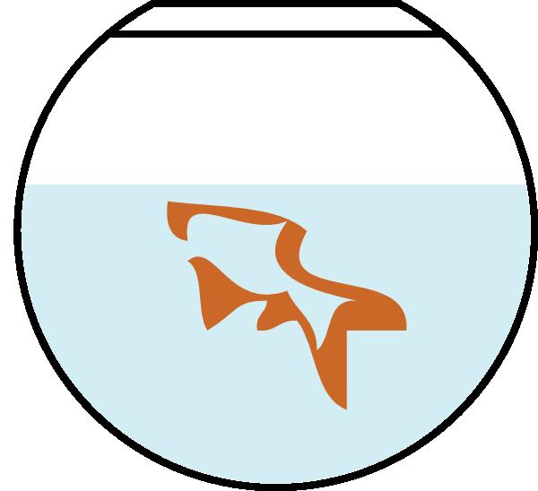 600x548 Fish In Bowl Clip Art