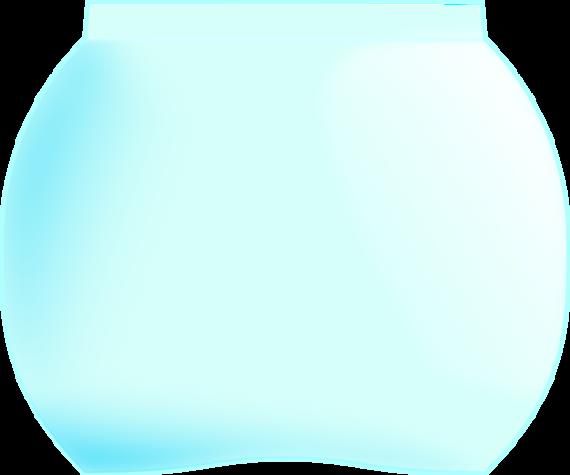 570x475 Fish bowl clip art