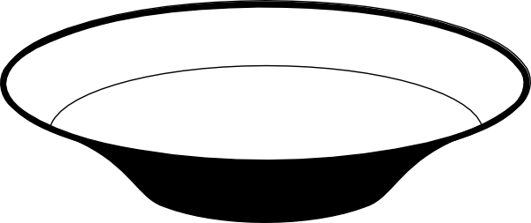 600x253 Bowl Clipart