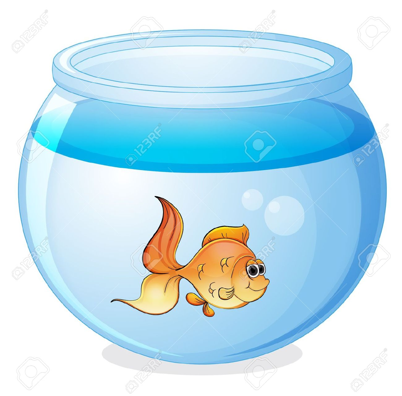 1300x1281 Fishtank clipart fish bowl