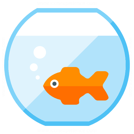 512x512 IconExperience » G Collection » Fish Bowl Icon