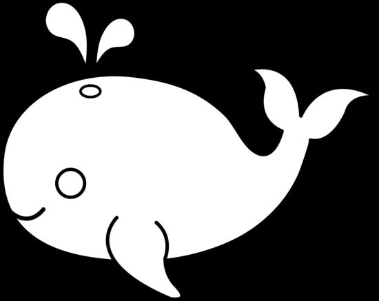 550x437 Fish Black Clipart