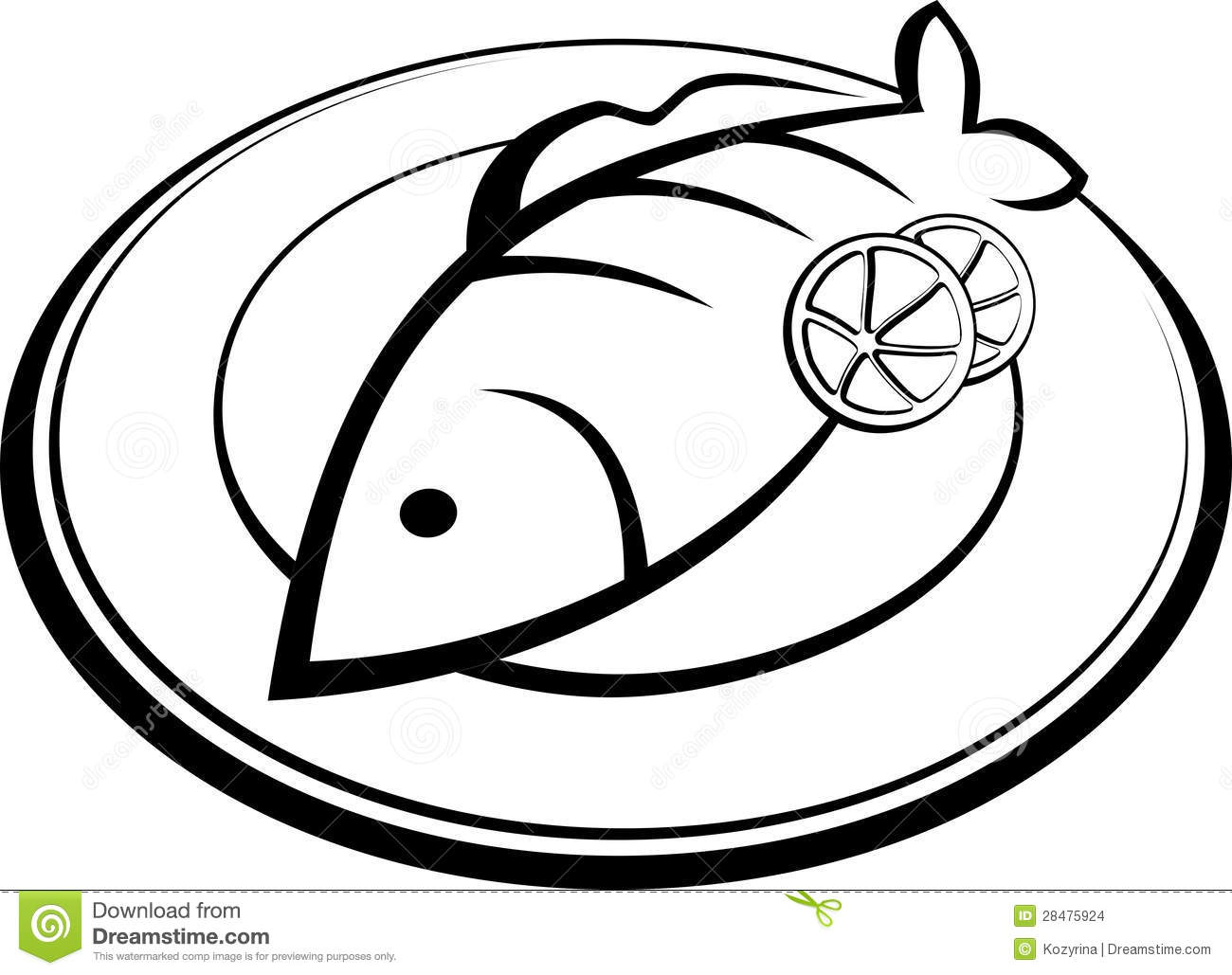 1300x1029 Fried fish clipart