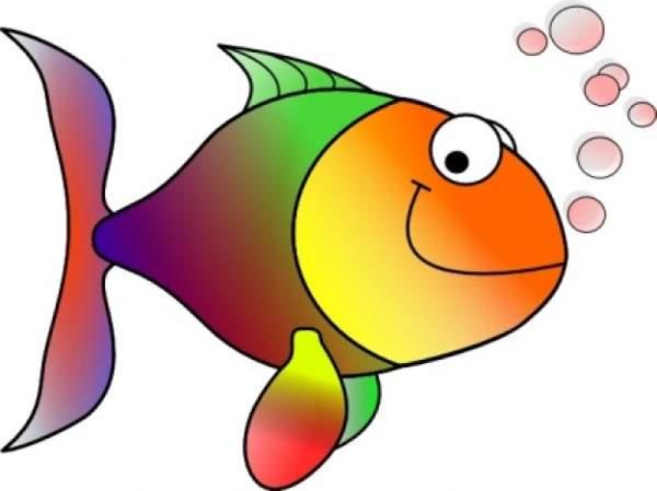 600x449 Free fish clipart