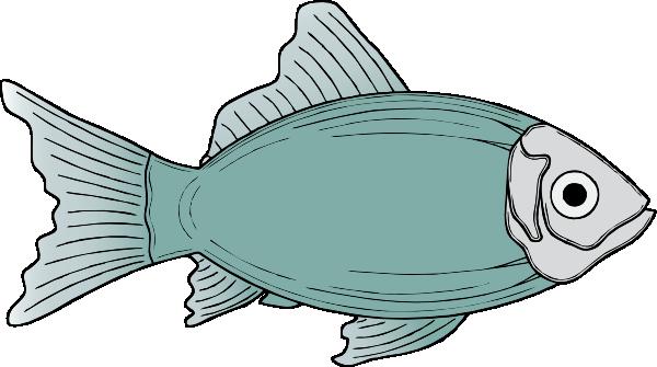 600x335 Generic Fish clip art Free Vector 4Vector