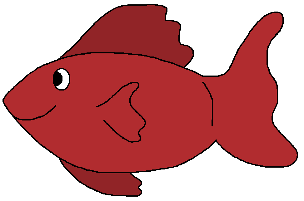 973x644 Goldfish Clipart Red Fish