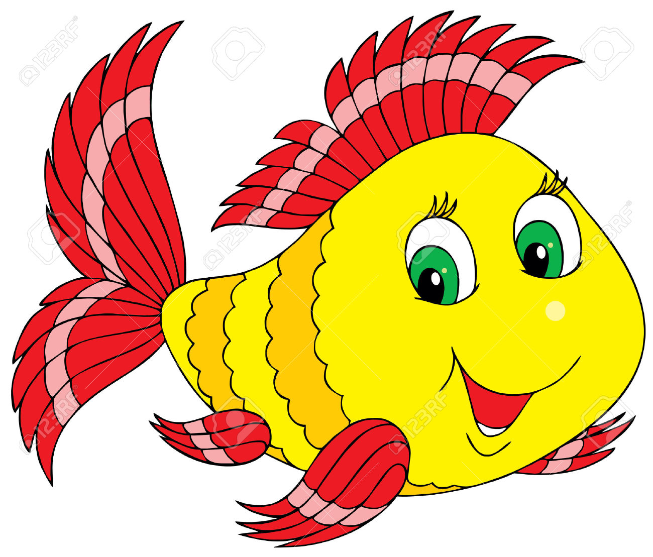 1300x1109 Smileys Clipart Fish