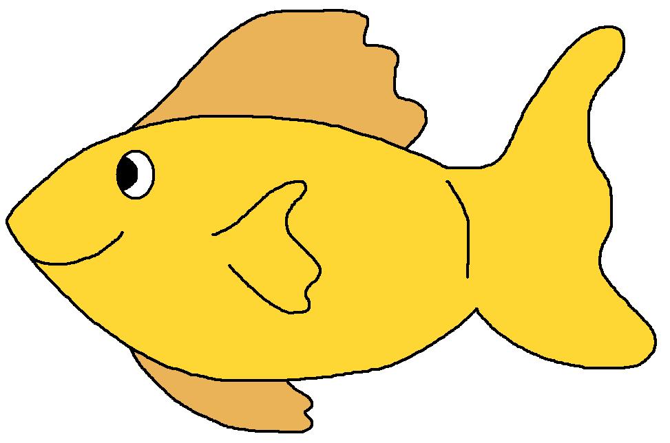 973x644 Yellow fish clip art Clipart Panda
