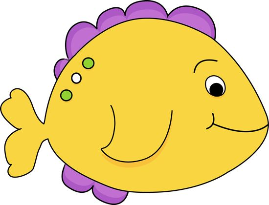 550x420 Cartoon Fish Clip Art