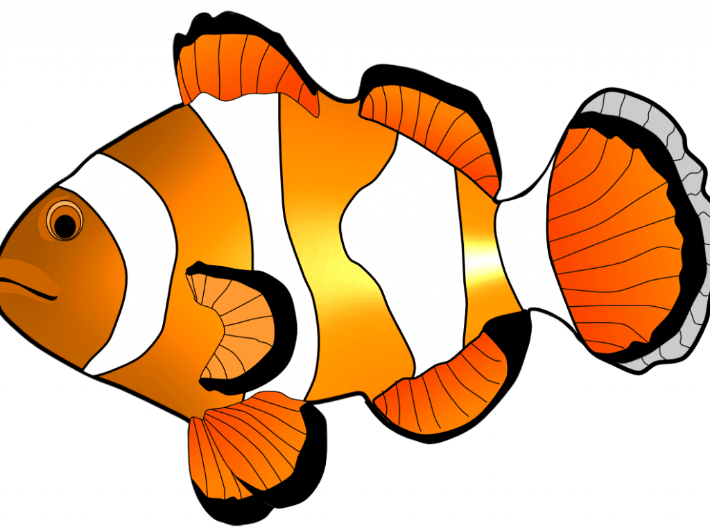 1024x768 Peaceful Design Ideas Clip Art Fish Clipart Free And