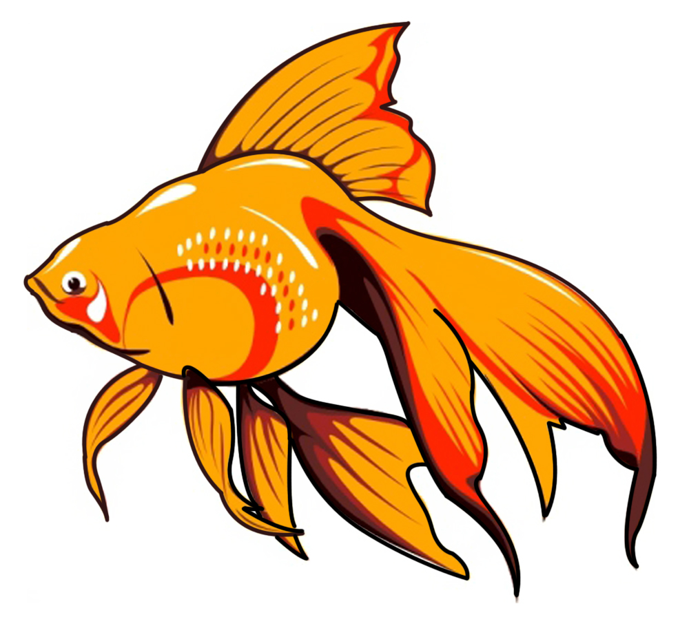 1000x925 School of fish clip art free clipart images