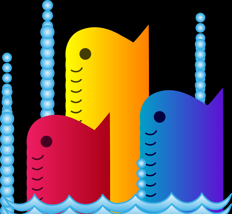5434x5031 Top 84 School Of Fish Clip Art