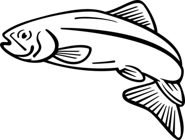 636x484 Salmon Cooked Fish Clipart Free Clipart Images Image