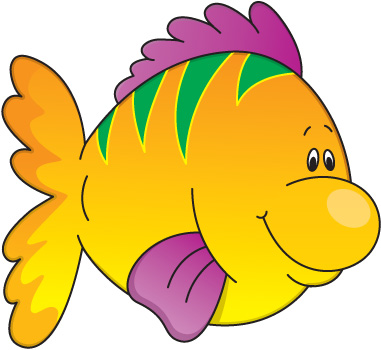 381x350 Fish In Water Clip Art For Kids Clip Art