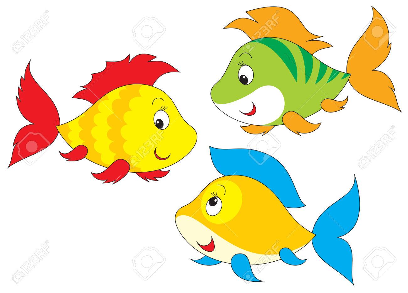 1300x935 Tropical Fish Clipart Carton