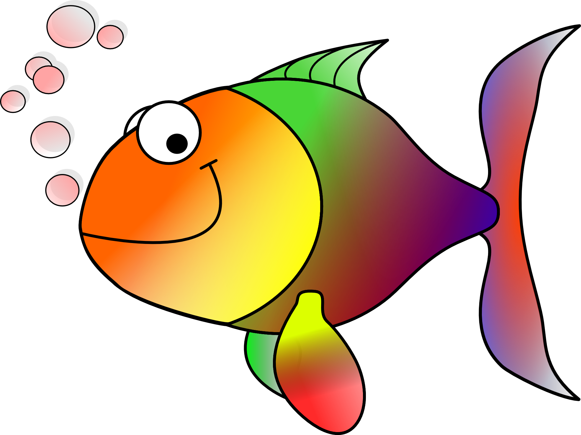 1969x1475 Tropical Fish Clip Art Free Clipart Images
