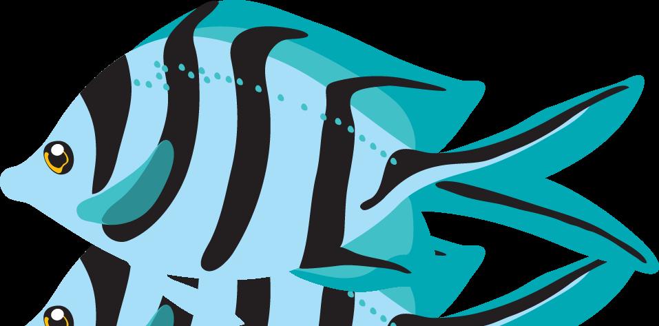 957x473 Blue Fish Clipart