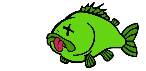 615x300 Cartoon Dead Fish