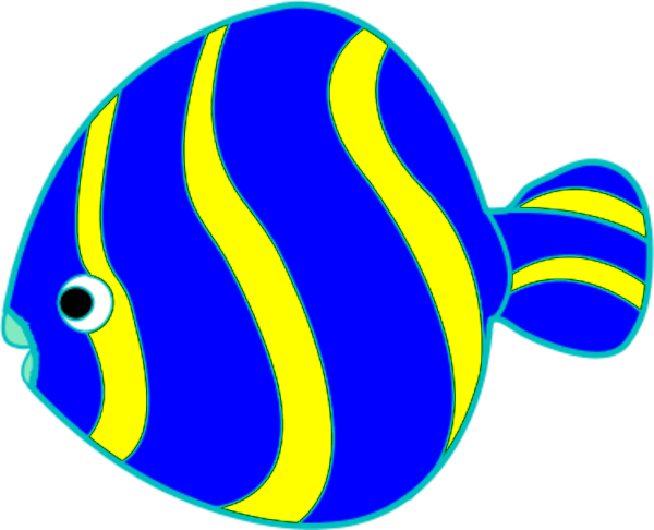 600x486 Colorful Fish Clip Art Free Clipart Images 2