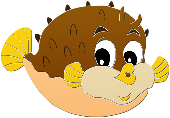 720x498 Best Puffer Fish Clip Art