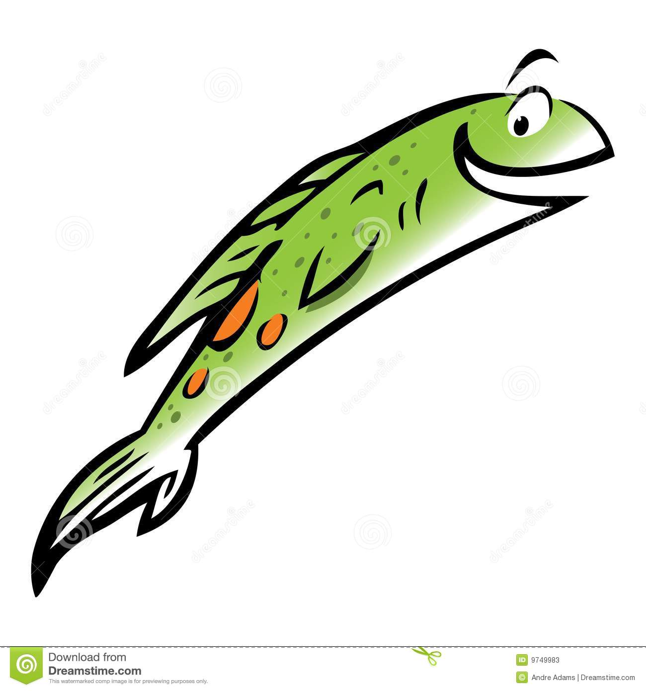 1300x1390 Jumping Fish Clipart