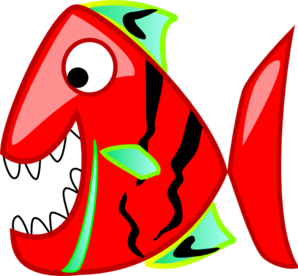 298x276 Red Fish Clip Art