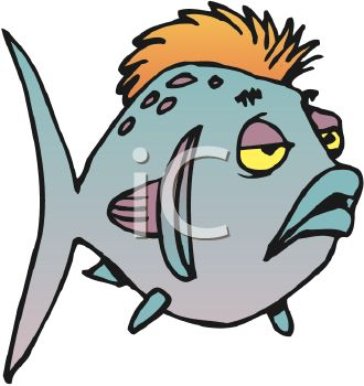 330x350 Sick Cartoon Fish