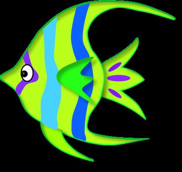 370x350 Summer Clip Art Images · Fish Clipart Panda