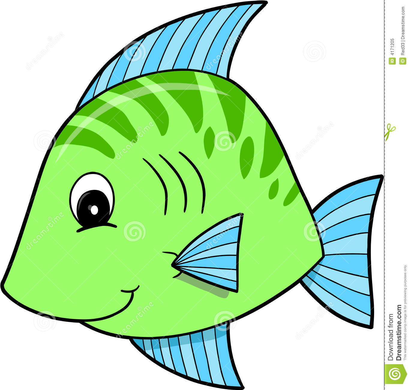 1370x1300 Cute Fish Clipart