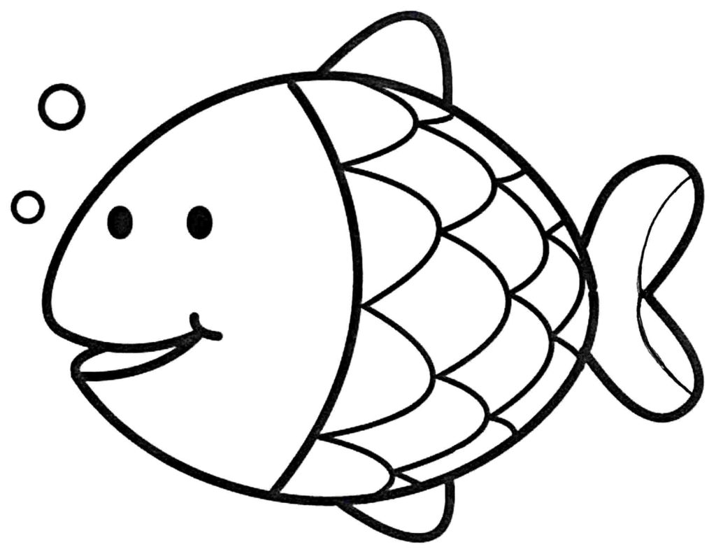 Fish Drawing For Kids | Free download best Fish Drawing For Kids ...