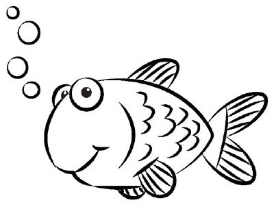 Fish Drawing For Kids Free Download Best Fish Drawing For Kids On