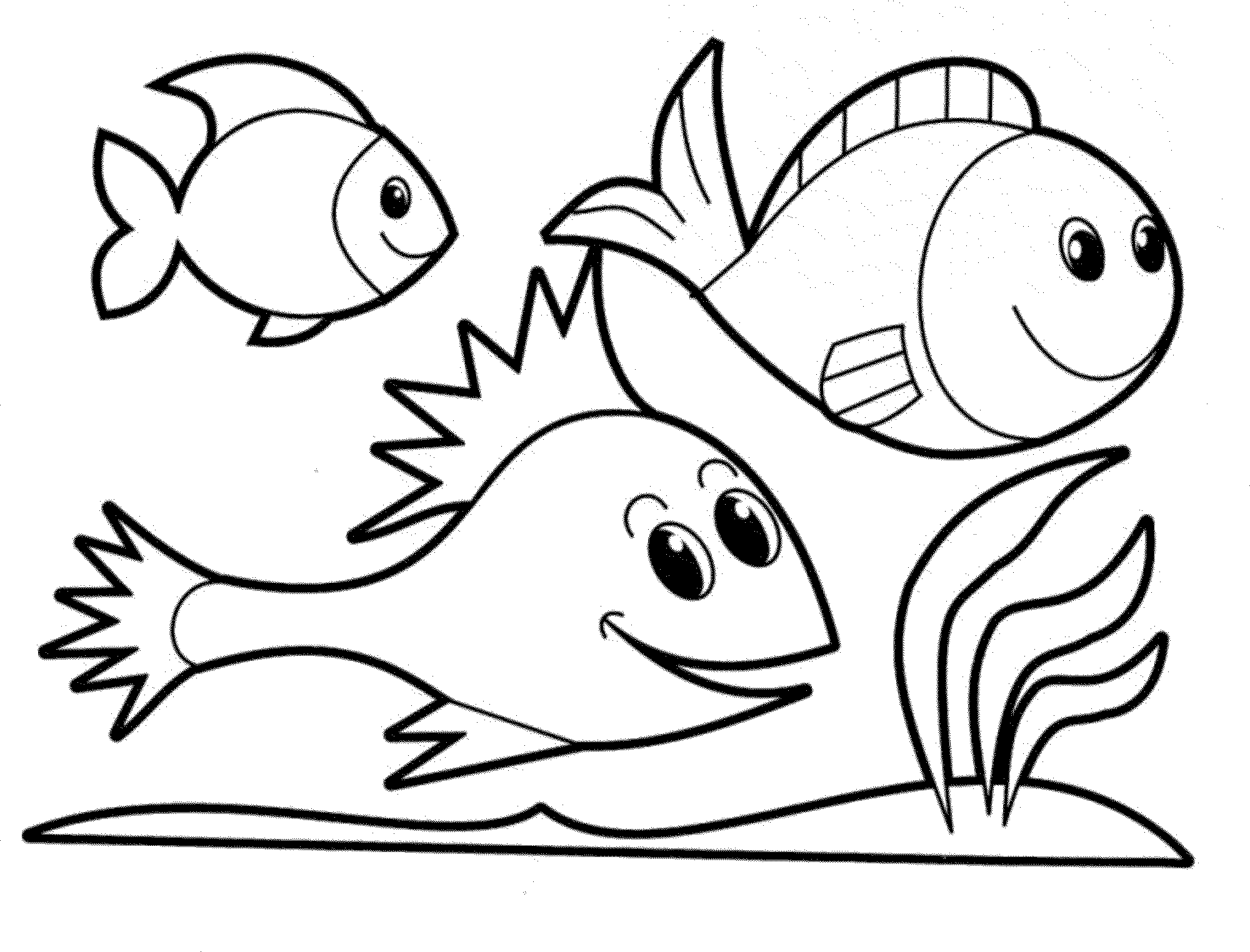 2000x1524 fish coloring pages beautiful fish coloring pages for kids