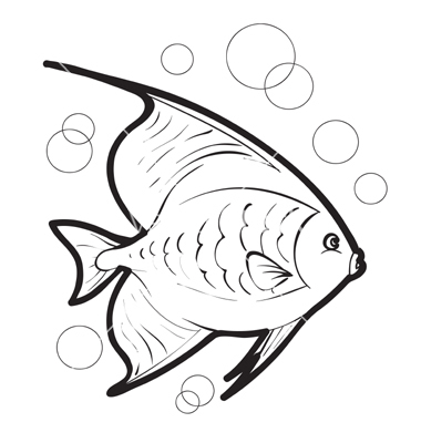 Fish Drawing Outline Free Download Best Fish Drawing Outline On