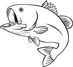 236x216 How to Draw Cartoon Fish Jumping out of the Water