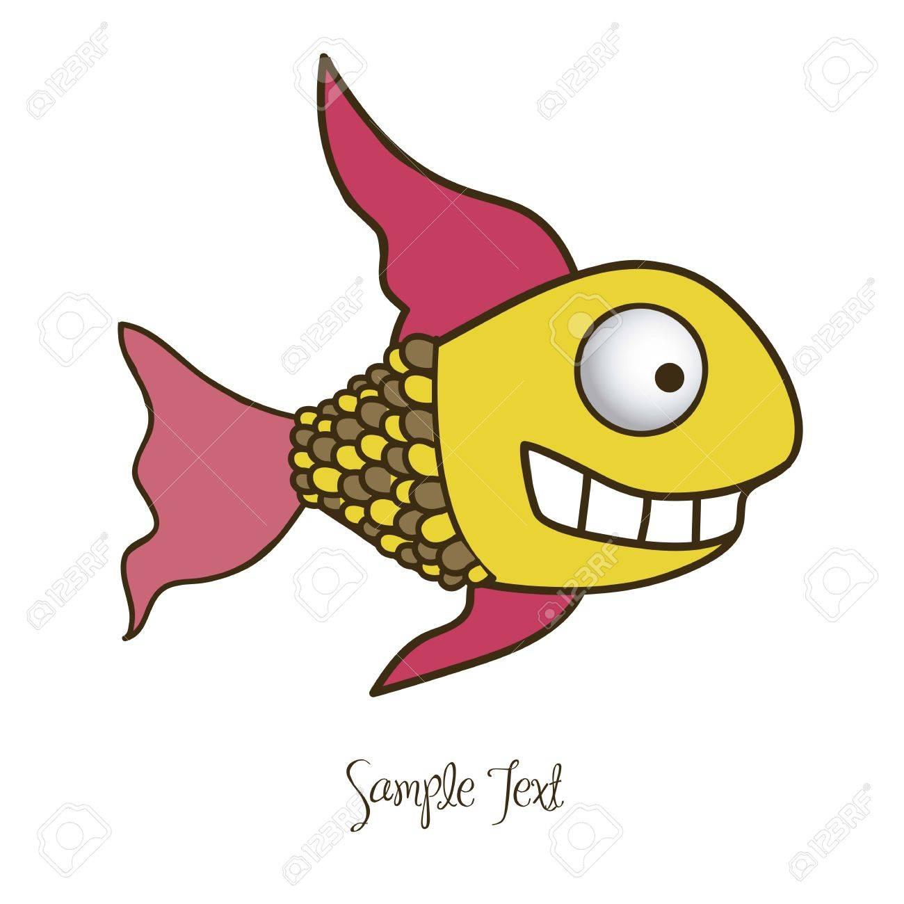 1300x1300 Illustration Of Fish Drawings, Aquatic Animals, Vector